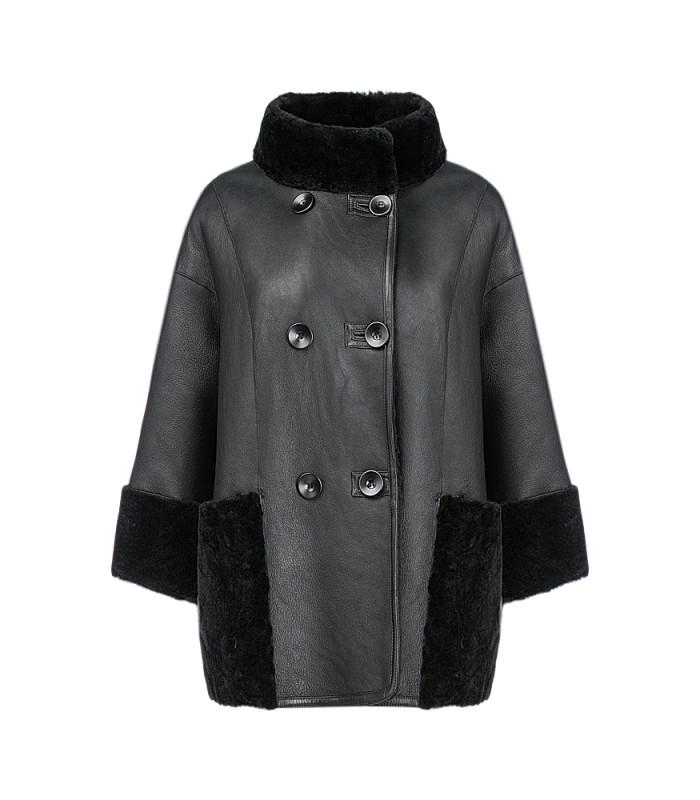 Женская куртка из овчины