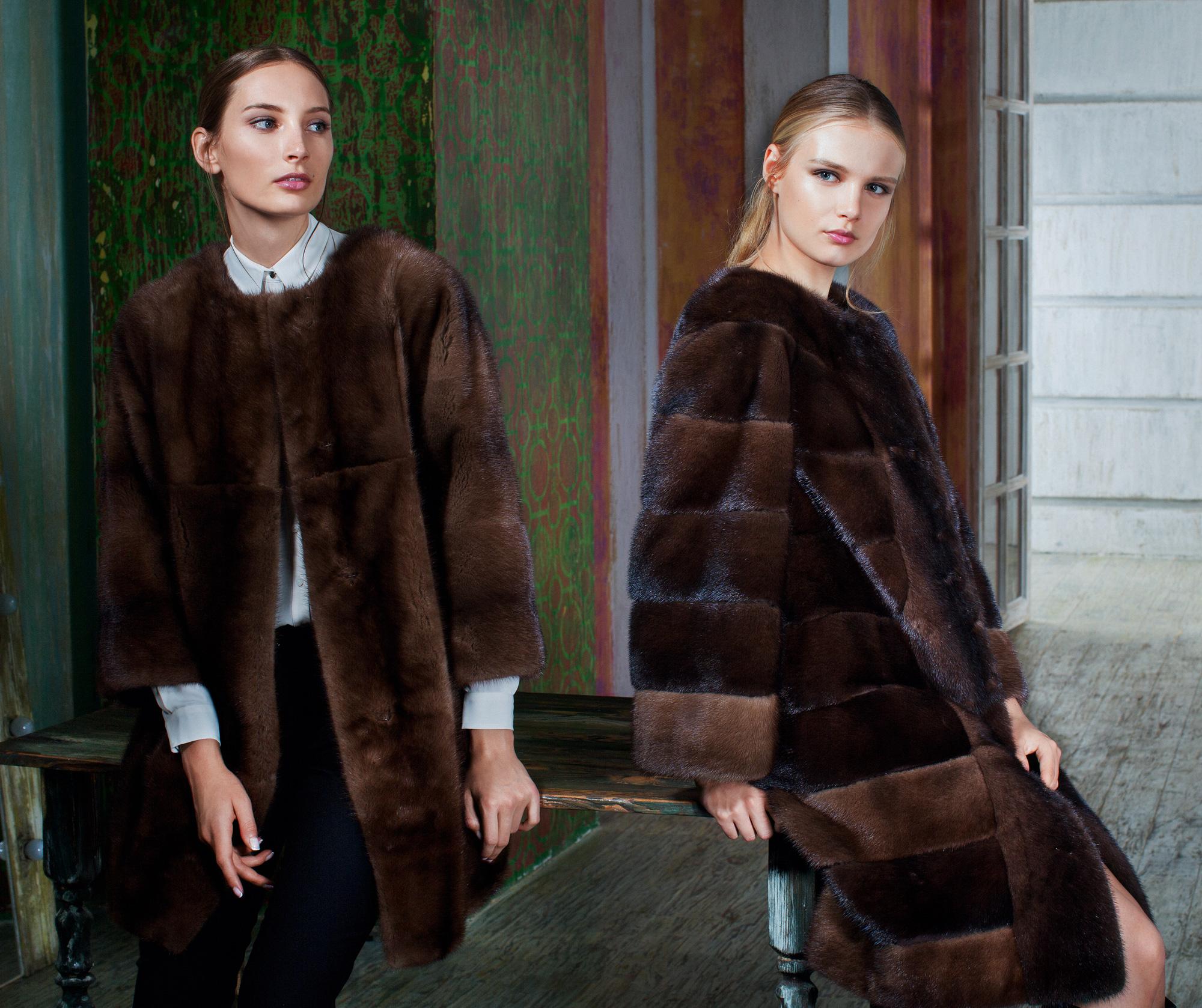 Купить шубу из скандинавской норки в Москве