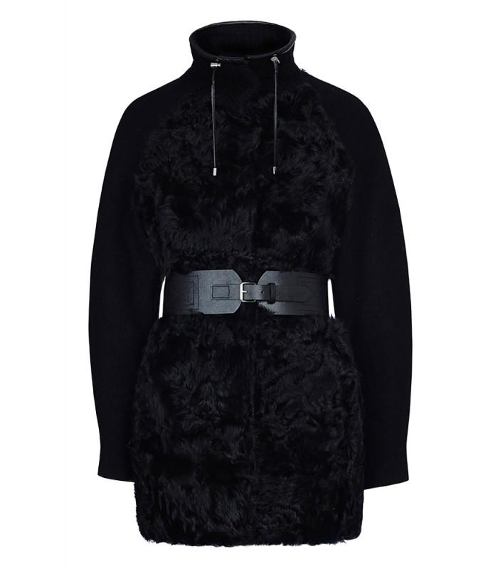 Куртка из меха овчины