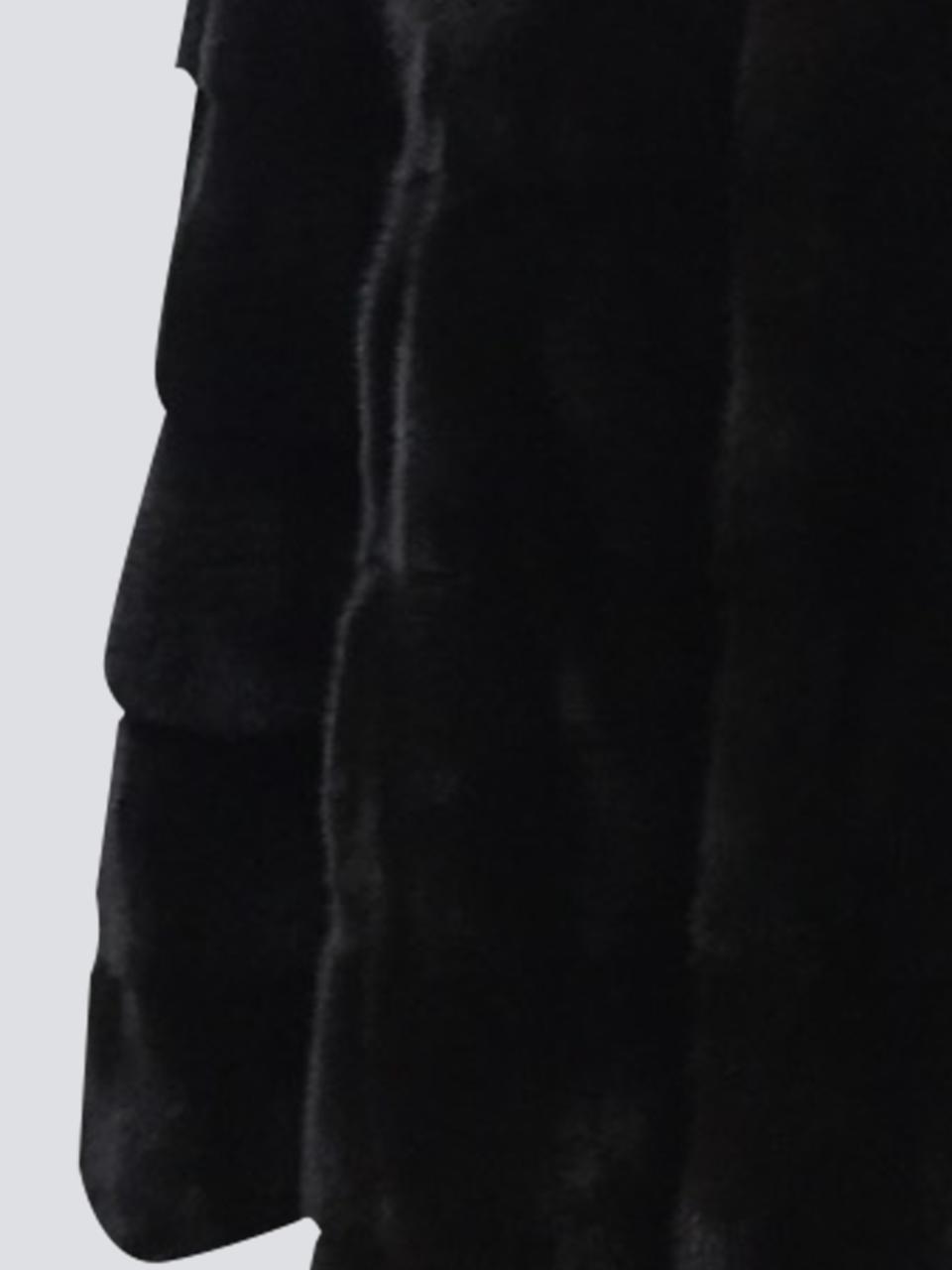 Норковая Шуба поперечная